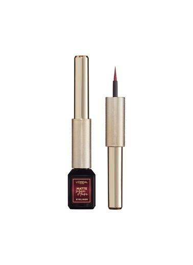 L'Oréal Paris Matte Signature 05 Burgundy Eyeliner Kırmızı
